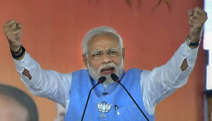 Congress, TRS are two sides of same coin says PM Modi