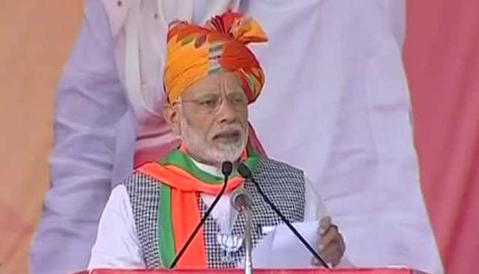 Jodhpur: Launching a scathing attack on Congress for questioning his knowledge on Hinduism, Prime Minister Narendra Modi said that even the rishi muni (Hindu Sages) did not have complete knowledge of Hinduism.