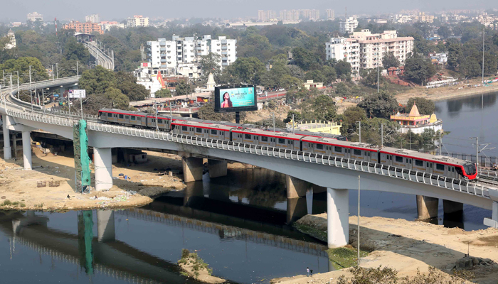 Lucknow Metro phase-2 load test conducted successfully