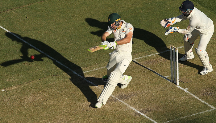 Perth Test: Aus scores 77/6 at stumps on day 2 against India