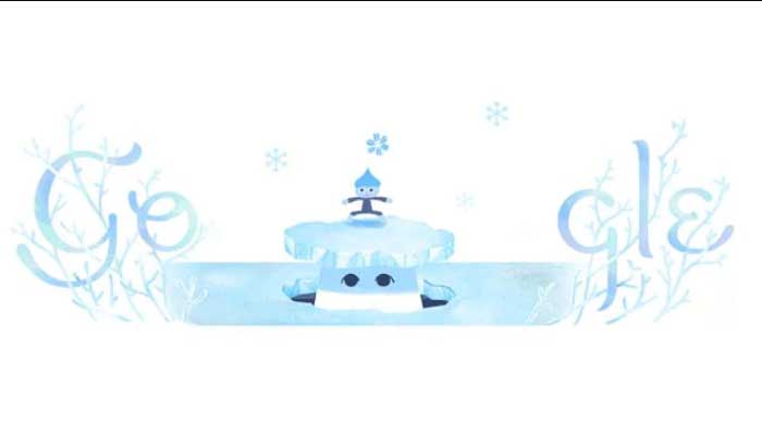 Google celebrates Shortest Day of the year with a Doodle