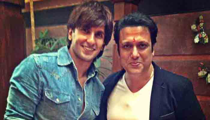 This is what Govinda has to say about Ranveer Singh