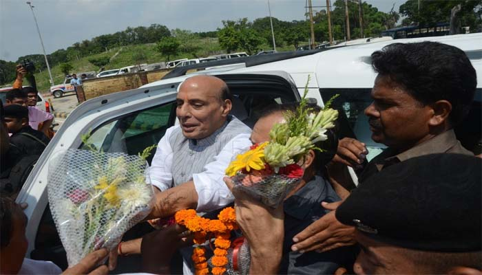 Home minister Rajnath Singh arrival in Lucknow for 4 days, here are his program details
