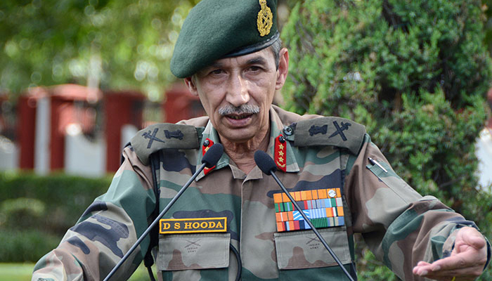 We can't take military action to suit someone politically: Surgical strike Gen. Hooda